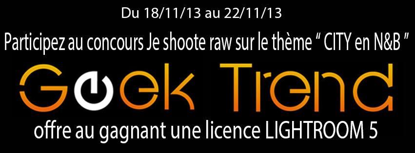 """Concours Photo Je Shoote Raw """"City en Noir et blanc"""""""