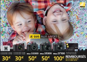 """Offre de remboursement ODR Nikon """"Je suis aux anges"""""""